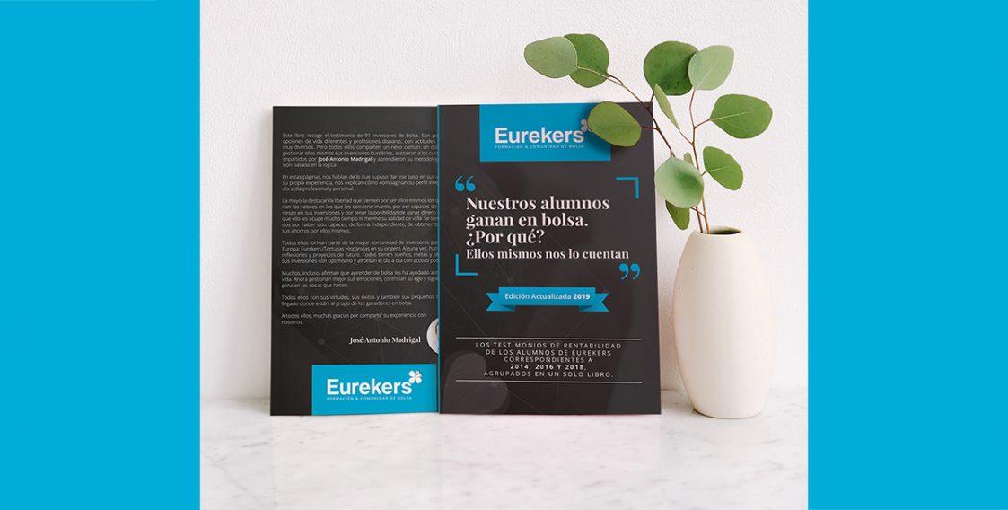 Diseño de libro para Eurekers