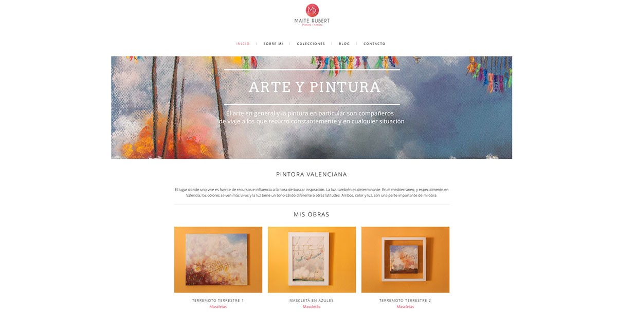 Diseño web Maite Rubert