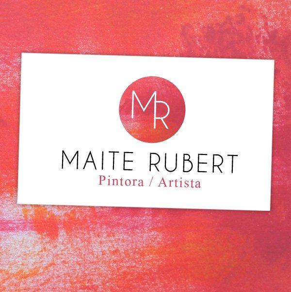 Identidad corporativa y web para Maite Rubert
