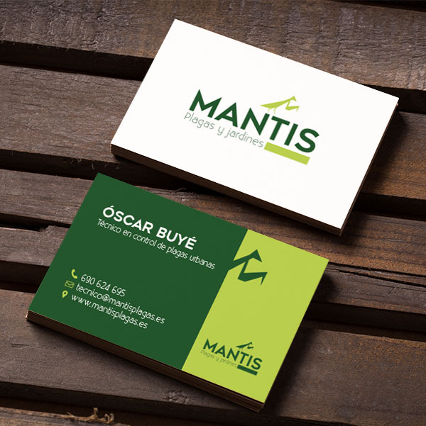 DISEÑO DE MARCA PARA MANTIS