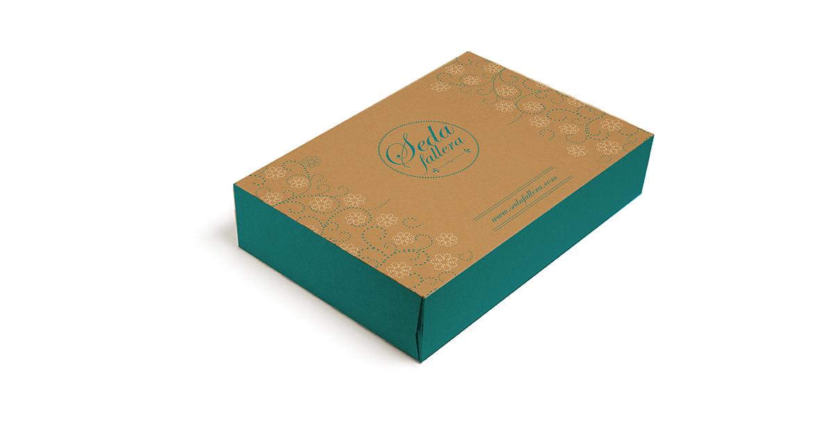 Diseño de Packaging Seda Fallera
