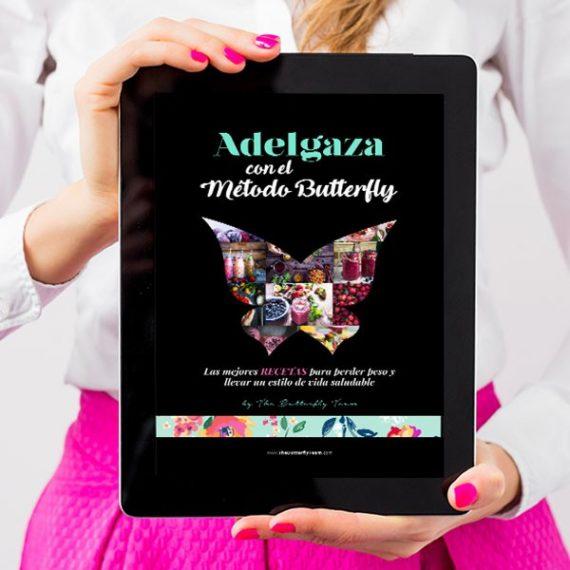 DISEÑO PARA PUBLICIDAD: LIBRO DE RECETAS THE BUTTERFLY TEAM