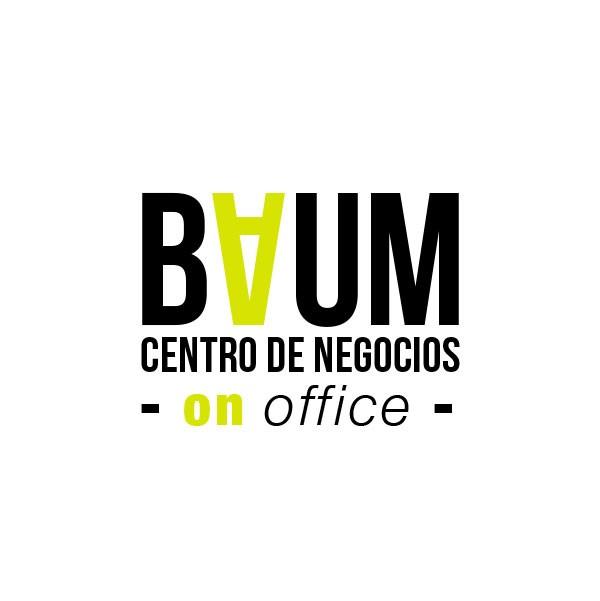 diseño marca BAUM centro de negocios