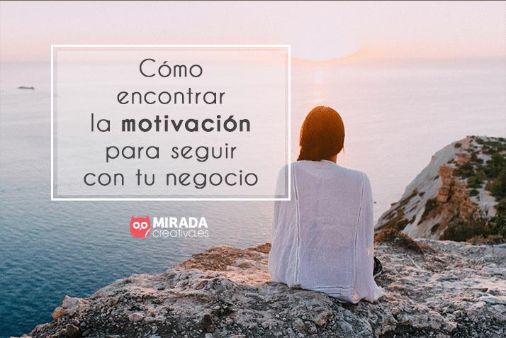 cómo encontrar la motivación