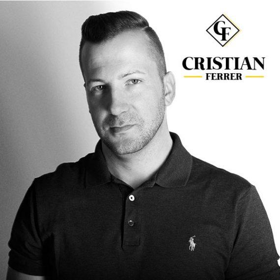 Diseño de marca y fotografía corporativa CRISTIAN FERRER DJ