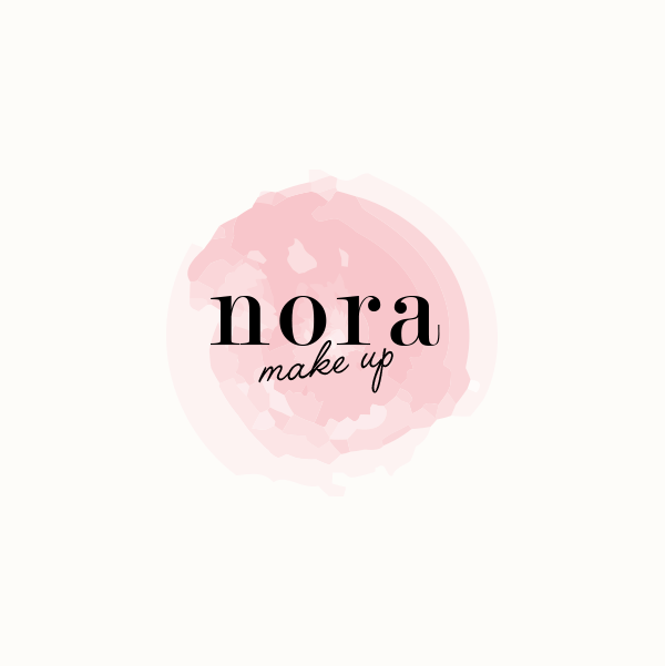 Diseño de marca para Nora Make Up