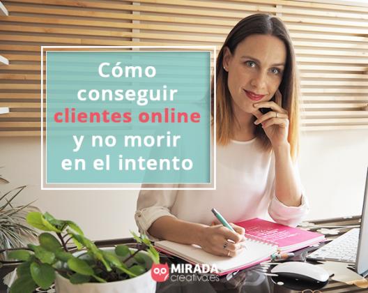 como conseguir clientes online