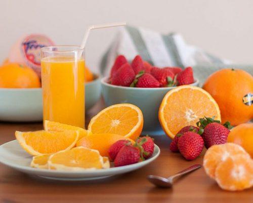 fotografía de producto naranjas torres
