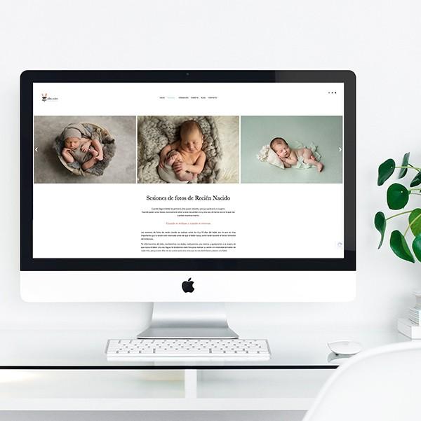 Diseño web Alba Soler