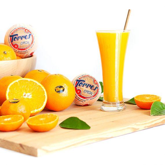 Fotografía de Producto para Naranjas Torres