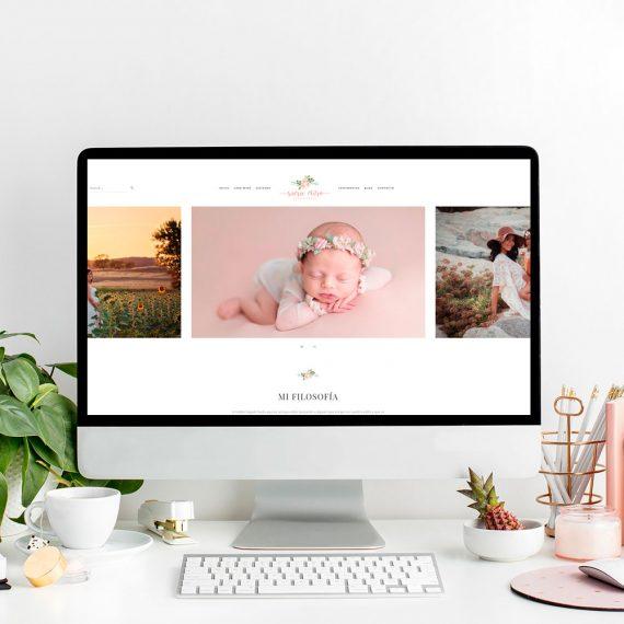 Diseño Web Sara Miró Fotografía